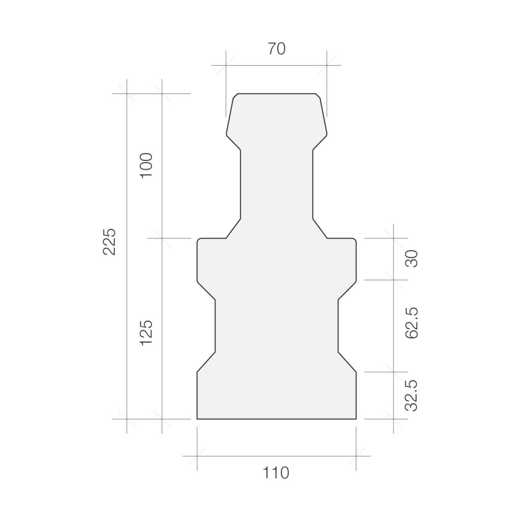 225 beam section detail, deep beam, 225mm t beam, beam and block floors