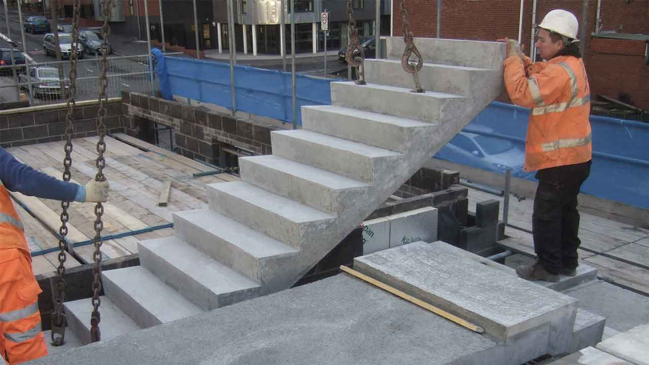 Stairs mounting